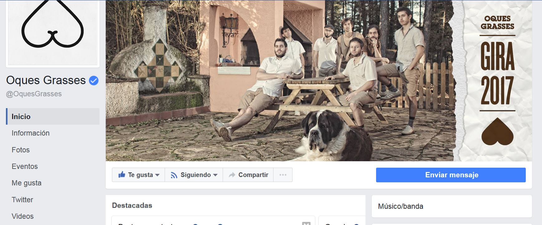 Oques Grasses Facebook consejos de marketing digital por KZoo Music