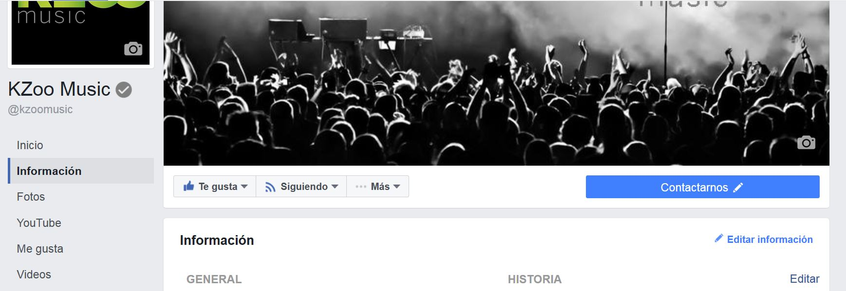 Facebook consejos de marketing digital por KZoo Music