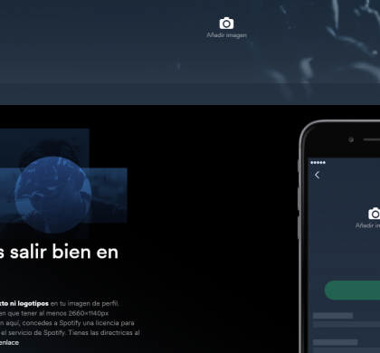 Spotify for Artists (I)… ¡verifica tu perfil y personaliza tus fotos en Spotify!